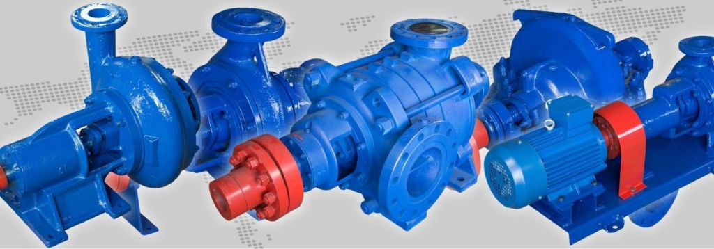 "Trade House ""UKRNASOSSERVIS"" LLC - The factory for the production of industrial pumps"